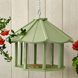 Notonthehighstreet.com - Hanging Bird Table by LINCOLNSHIRE DOVECOTES