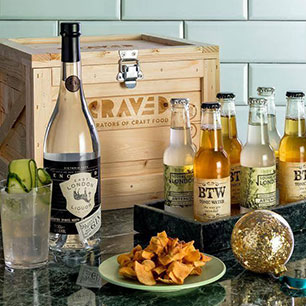 Notonthehighstreet.com - Craft Gin And Tonic Cocktail Kit by CRAVED