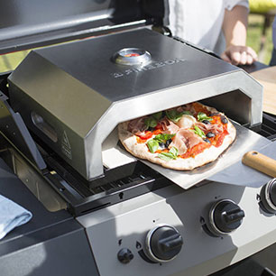 Notonthehighstreet.com - Portable Firebox Pizza Oven by OXFORD BARBECUES