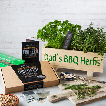 Notonthehighstreet.com - Bbq Herb And Smoking Kit by PLANT AND GROW