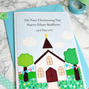 Personalise the card with the baby's name and date of the ceremony
