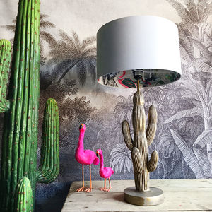 Grey Chi Miracle Lampshade In Cloud Grey Cotton - view all new