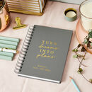 Personalised Dreams 2020/21 Mid Year Diary