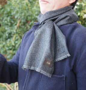 Personalised Lambswool Scarf
