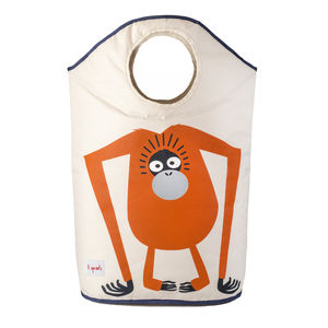 Children's Orangutan Or Octopus Laundry Basket - baskets