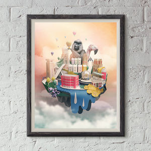 Limited Edition Paper Bristol Print