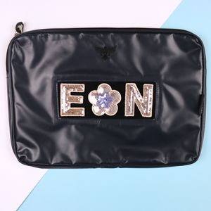 Personalised Tarpaulin Laptop Case For Girls