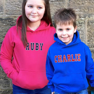 Personalised Childrens Hoodie