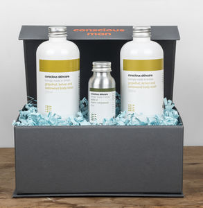 Conscious Man Organic Body Collection - gifts for him