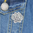 Dog Mum Enamel Pin Badge