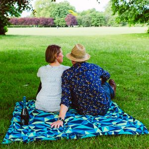 Harlequin Waterproof Family Picnic Mat