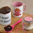My Mummy Cake Monster Chocolate Mug Cake Gift Set
