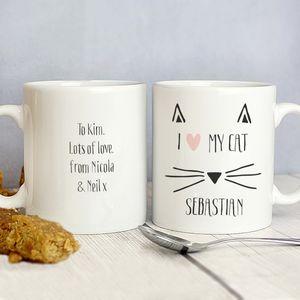 Personalised Cat Mug - mugs
