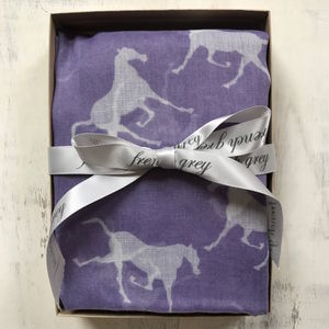 Horse Print Scarf - hats, scarves & gloves