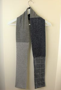 Men's Mixed And Patterned Fabric Scarves