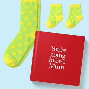 'You're Going To Be A Mum' Gift - books