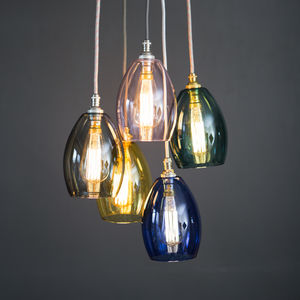 Bertie Small Mixed Coloured Cluster Light - ceiling lights