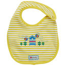 Unisex Yellow Bee Themed Reversible Bib