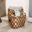 Set Of Two Hyacinth Woven Storage Baskets