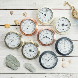 Mix And Match Miniature Weather Dials - living room