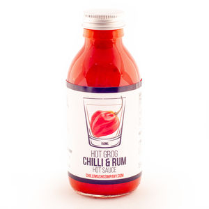 Hot Grog Rum And Chilli Hot Sauce 150ml