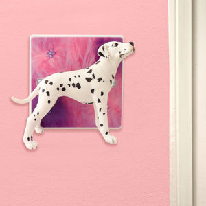 Decorative Light Switch With Dalmation Dog