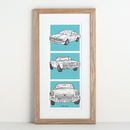 The Story Of My Cars Illustration