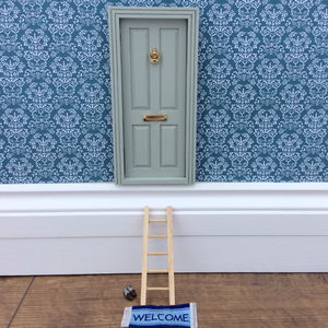 Enchanting Magic Fairy Door And Ladder