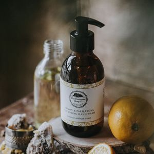 Lemon And Palmarosa Uplifting Hand Wash - the apothecary