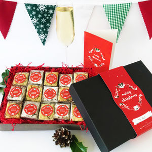 Christmas Indulgent Gluten Free Brownie Gift Box