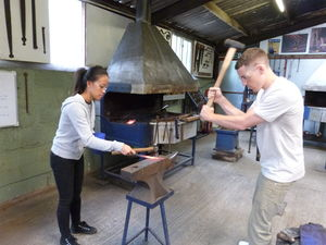 Couples Day Date Blacksmithing At Oldfield Forge - valentine's gifts for him
