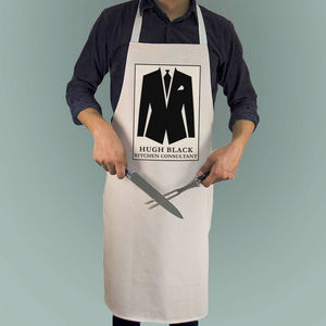 Personalised Kitchen Consultant Apron - aprons