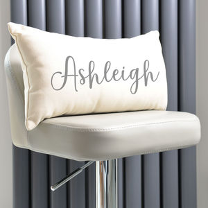 Personalised Name On Cushion - patterned cushions
