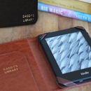 Luxury Personalised Kindle Case