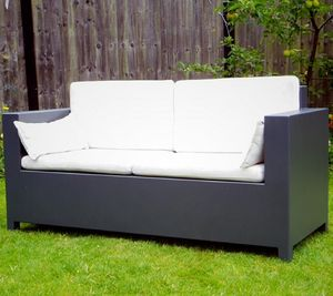 Elegance Aluminium Sofa - garden furniture
