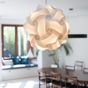 Round Lampshade Cosmo Smartylamp - office & study