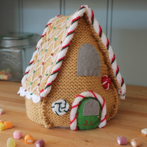 Knit And Design Your Own Gingerbread House - creative kits & experiences