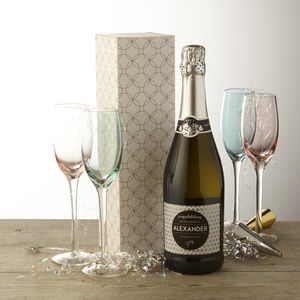 New Baby Personalised Prosecco - gifts for mothers