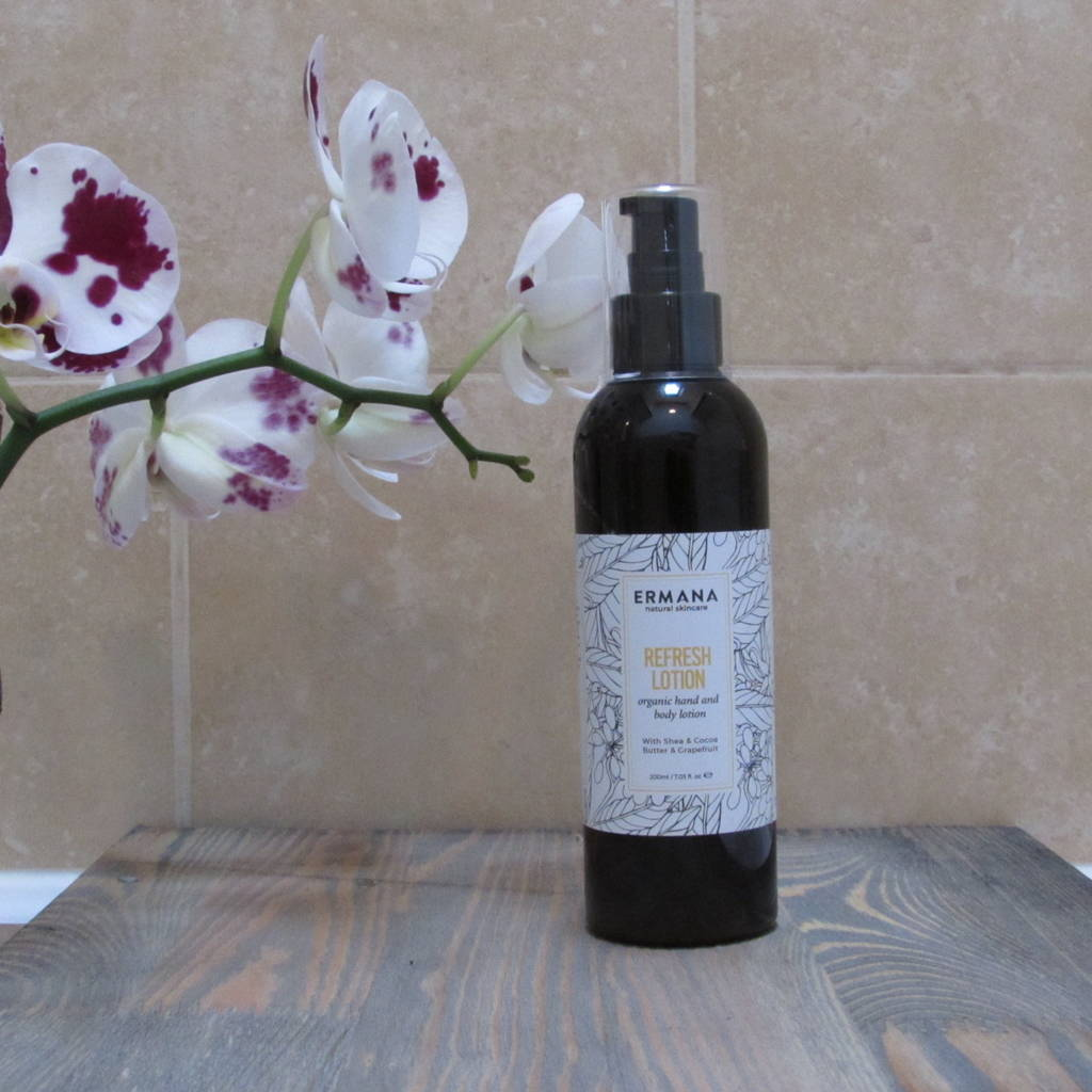 Refresh Organic Hand And Body Lotion