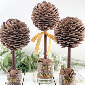 Personalised Cadbury's Chocolate Button Tree - novelty chocolates