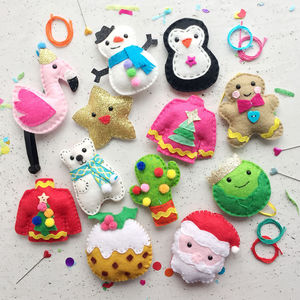 '12 Diys Of Craftmas' Craft Kit Set - traditional toys & games