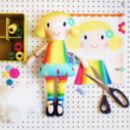 Personalised Doll Sewing Craft Kit