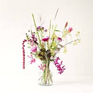 Three Month Flower Bouquet Subscription - new gifts for her