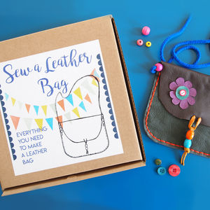 Sew A Leather Bag Kit - bags & purses