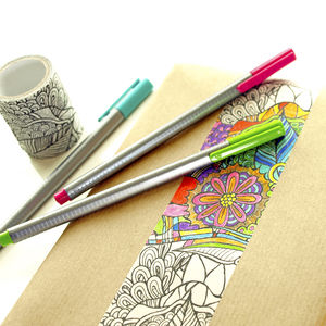 Doodle Washi Tape - decorative tape