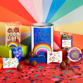 Good Times! See You Soon! Chocolate Lovers Gift Tin