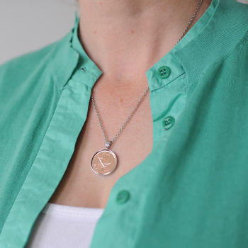 1949 70th /1939 80th Personalised Farthing Necklace