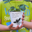 'Bee' Teacher Plant Pot Gift With Seeds