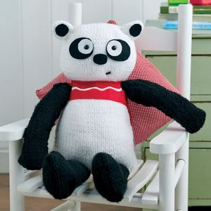 Big Panda Bear Knitting Craft Kit