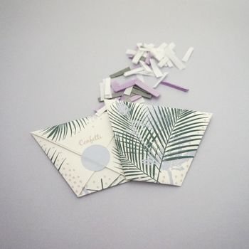 Botanical Packet Confetti